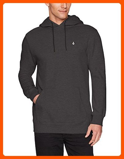 Volcom Men's Single Stone Pullover Fleece, Black, XL - Mens world (*Amazon Partner-Link)