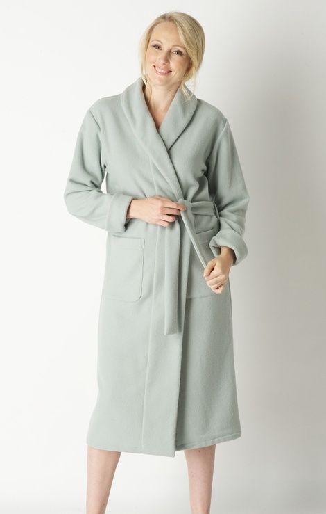This Luxurious Ladies Dressing Gown Is Made From Finest Italian