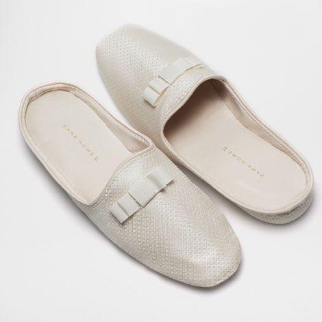 PANTOFOLA ZEPPA FIOCCO - Donna - Loungewear | Zara Home Italia