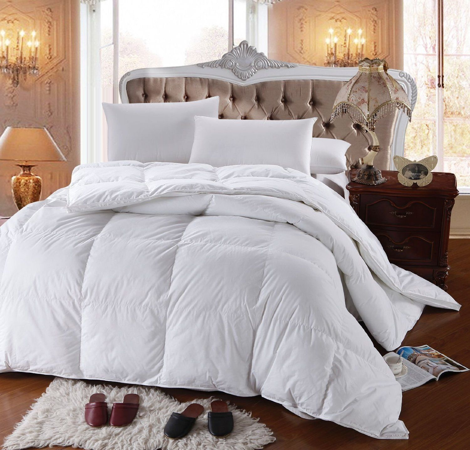 Royal Hotel S 300 Thread Count King Size Goose Down Alternative