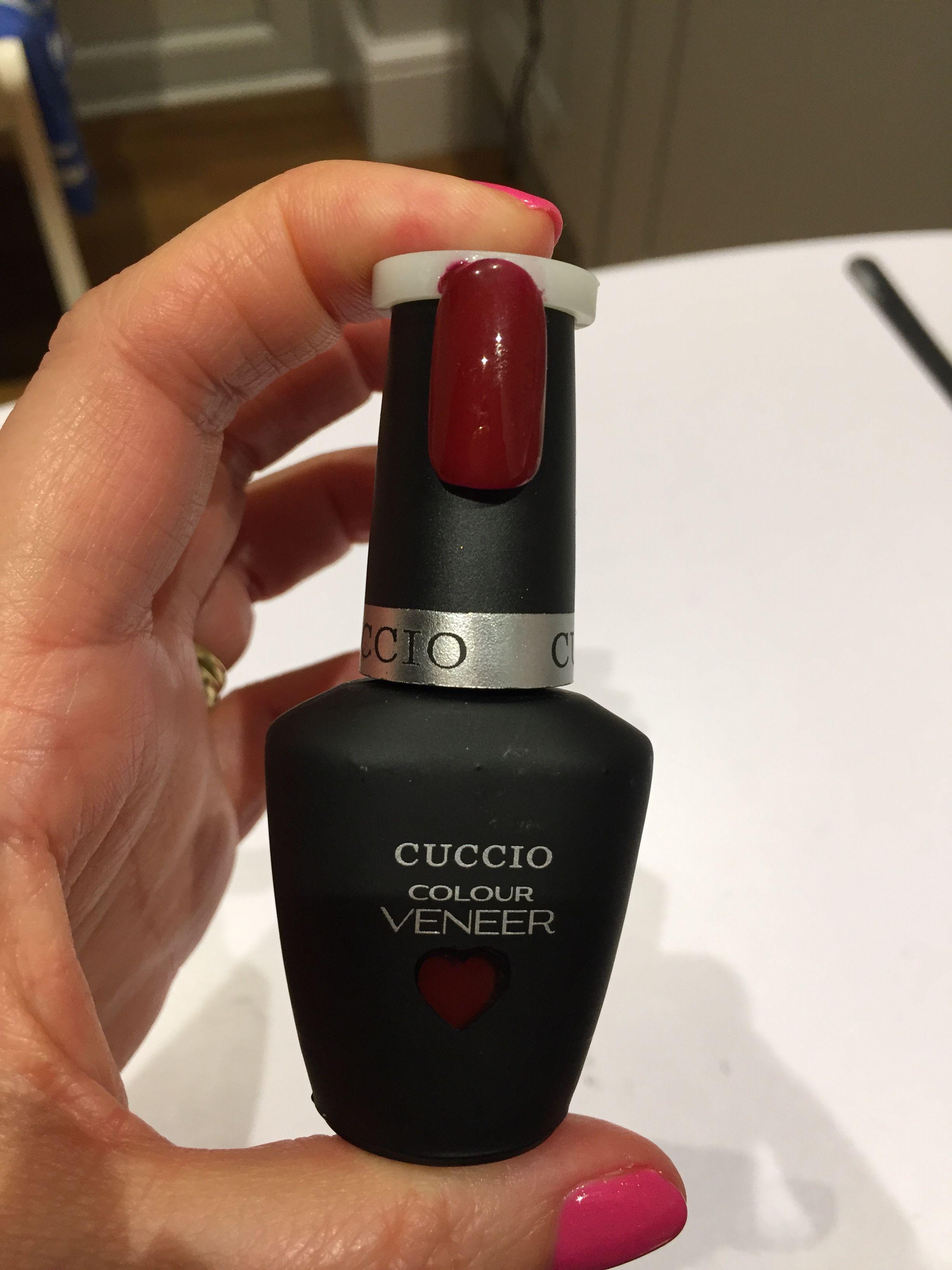 Cuccio Red eyes to shanghai. Great dark red with brown tones | Gel ...