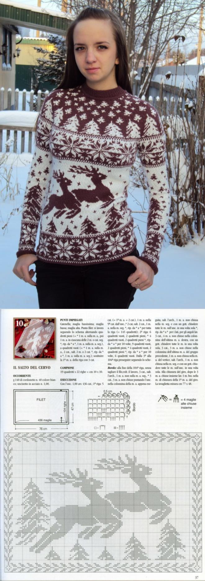 Скандинавский жаккард. Джемпер | Icelandic Sweater | Pinterest ...