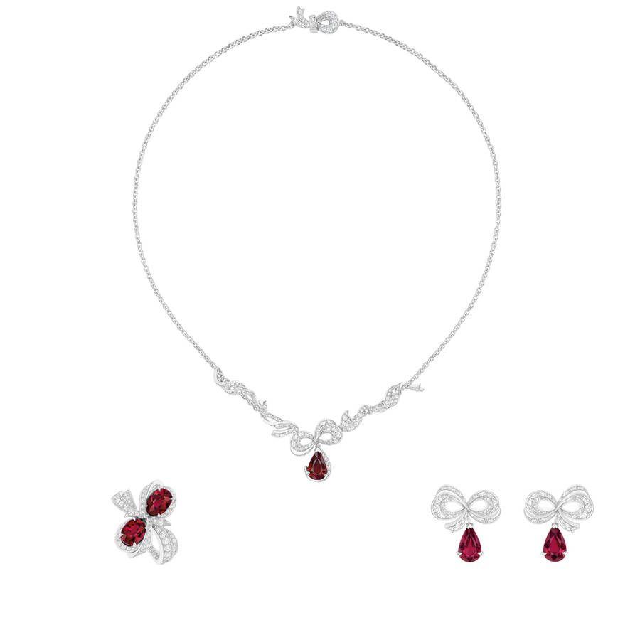 moins cher d9c46 a1d7d Parure bijoux or blanc Dior Joaillerie | Bijoux | Jewelry ...