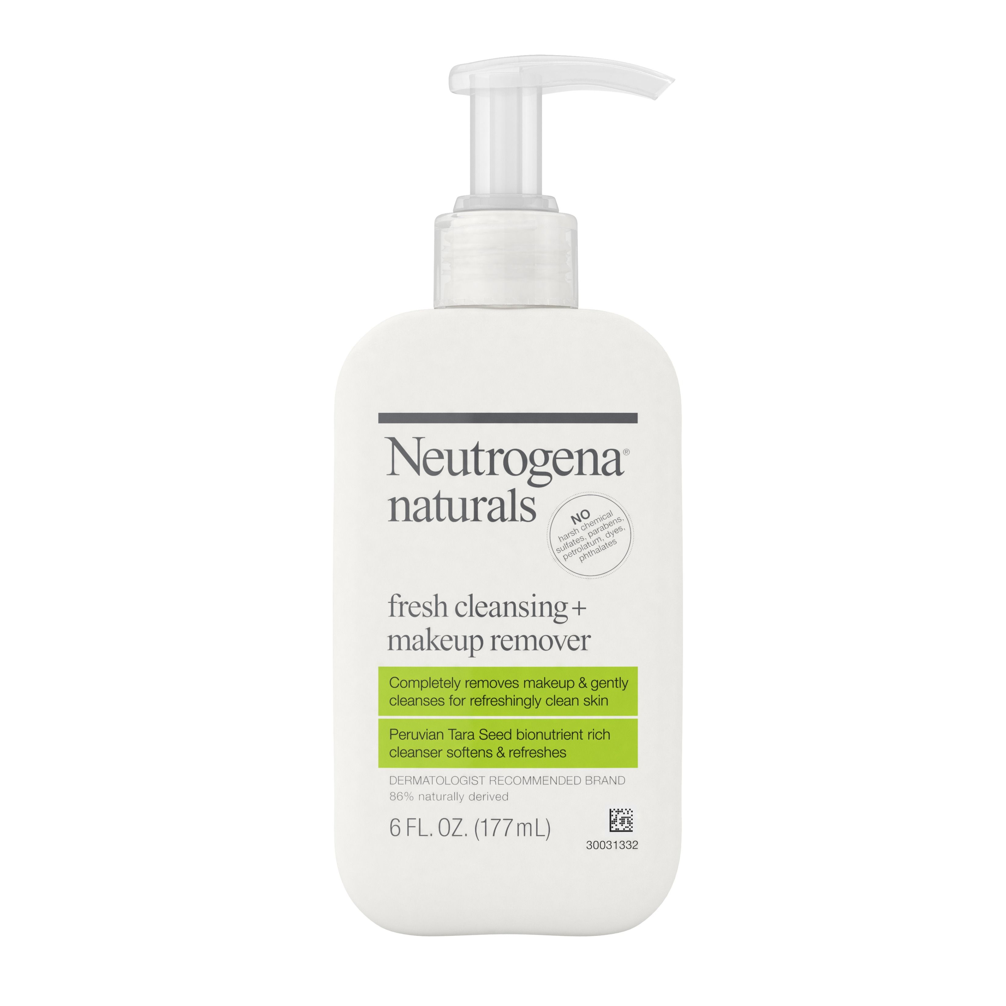 Neutrogena Naturals Liquid Facial Cleanser, All Skin Types