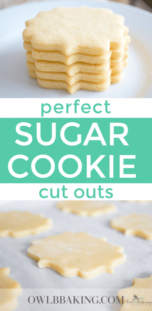 Perfect Sugar Cookie cut outs are soft, thick, sinfully buttery and taste amazing whether they are decorated or not! Make easy sugar cookie cut outs that keep their shape & edges. This is a no-chill recipe! #BestSugarCookieRecipe #CookieRecipes #EasyCookieRecipes #Softsugarcookies #HowMuchHairLossIsNormal