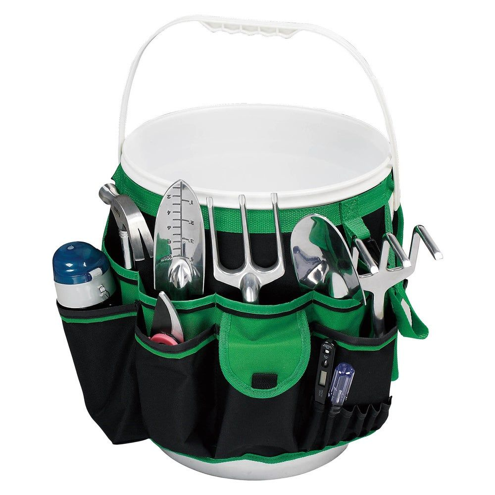 CLC Custom LeatherCraft 4122-5 Gallon Bucket Organizer 61 Pocket Tool Holder