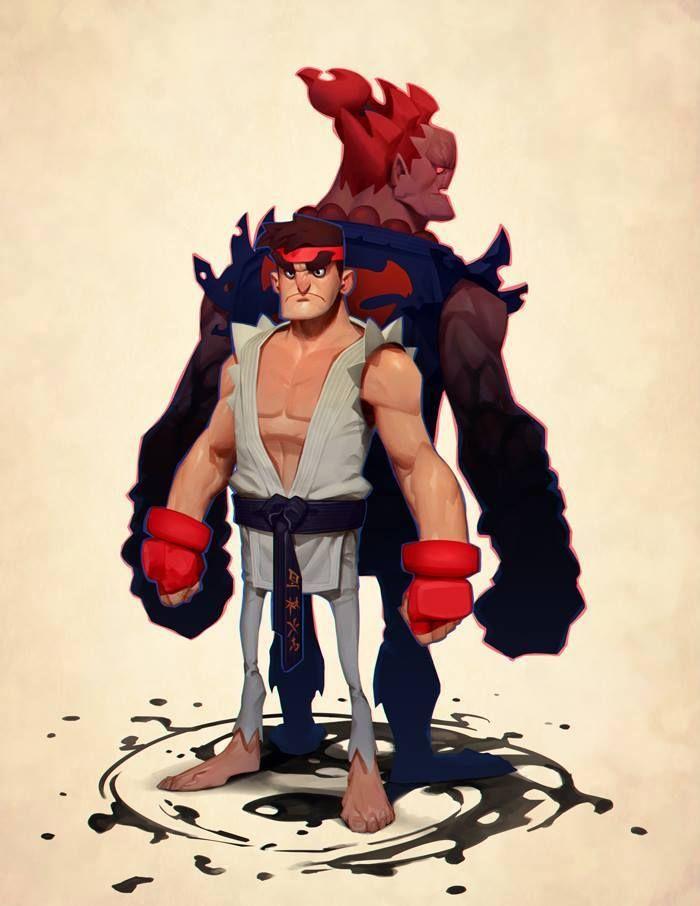 """Capcom Fighting Tribute"" by Max Grecke* • Blog/Website | (https://www.artstation.com/artist/maxgrecke) • Online Store | (https://www.society6.com/maxgrecke) ★ || CHARACTER DESIGN REFERENCES (https://www.facebook.com/CharacterDesignReferences & https://www.pinterest.com/characterdesigh) • Love Character Design? Join the #CDChallenge (link→ https://www.facebook.com/groups/CharacterDesignChallenge) a community of over 30.000 artists! || ★"
