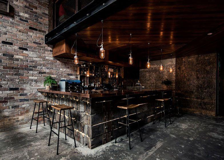 Innenarchitektur York krelle completes sydney bar based on a york loft