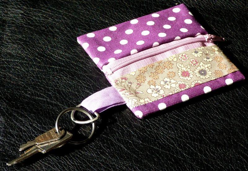 Porte-monnaie Frou-Frou - couture - violet QA6jkU