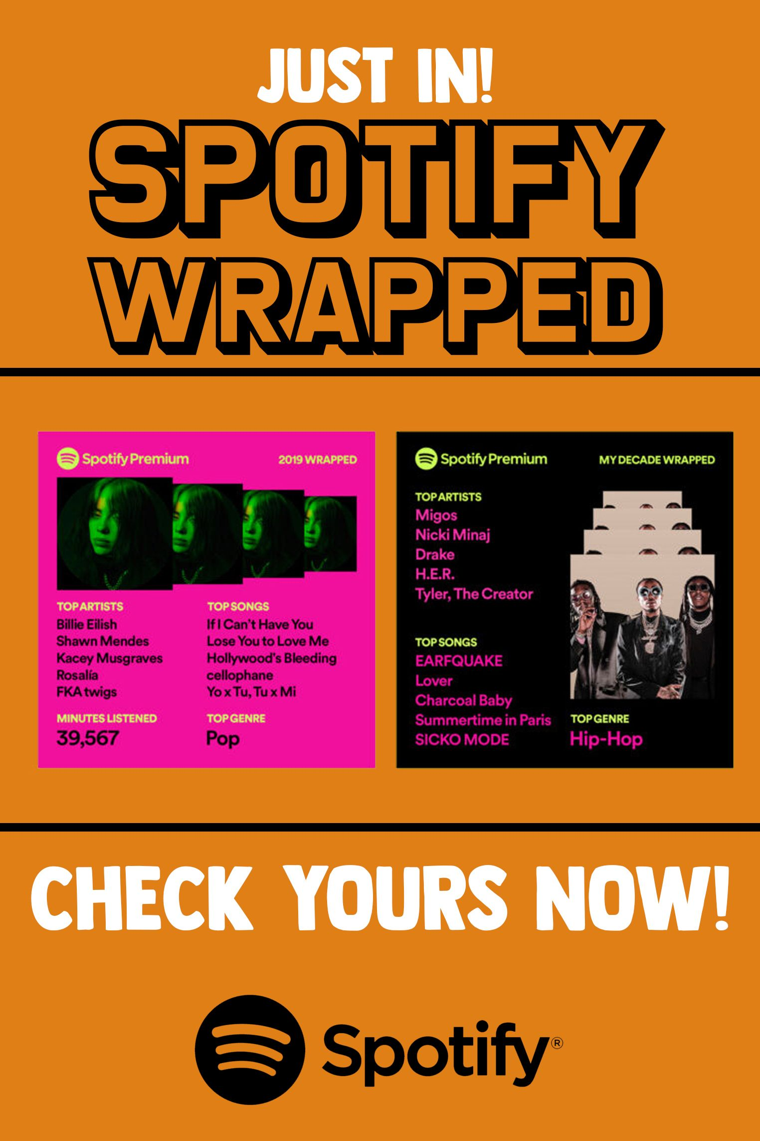 Spotify Wrapped Released Spotify Premium Spotify Android Codes