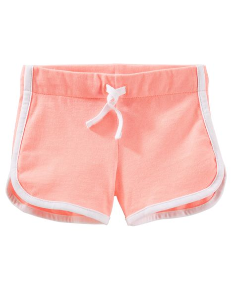 Pull On Jersey Shorts Baby Girl Shorts Toddler Girl Shorts