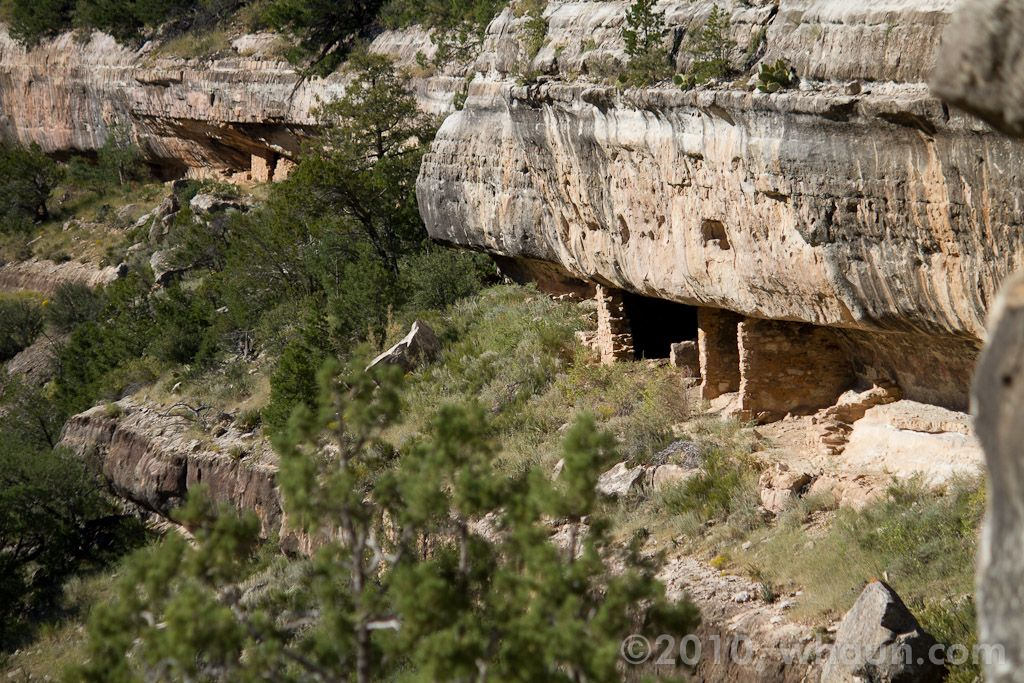 Cliff Dwellings At Walnut Canyon National Monument Near Flagstaff