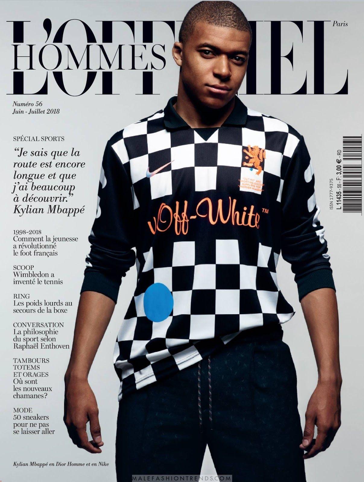 Kylian Mbappe Para L Officiel Hommes Paris Por Satoshi Saisuka Football Boys Football Illustration Neymar