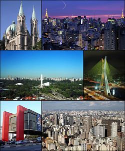 Get information about Sao Paulo city,best visiting places and flights.