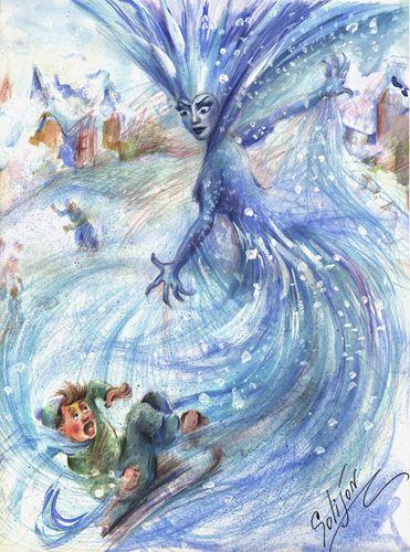 Г a андерсон иллюстрации к сказке снежная королева