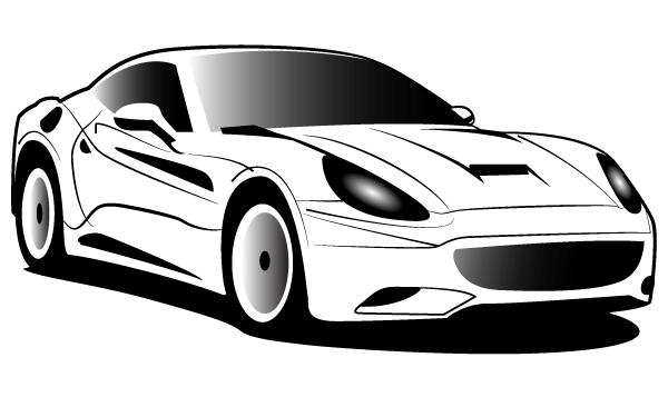 Race Car Silhouette Stencil Race Cars Car Silhouette