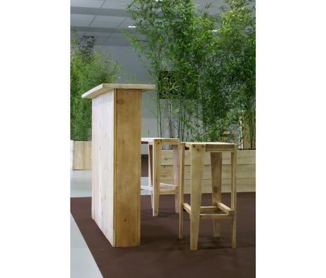 banque d 39 accueil eco mobilier bois de palette recycl paolette pinterest eco banque et. Black Bedroom Furniture Sets. Home Design Ideas
