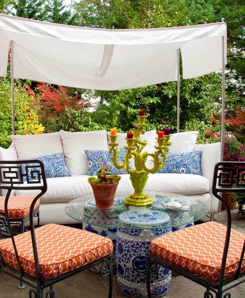 Chinoiserie Chic: Chinese Garden Stool DIY
