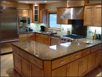 I would love to have this kitchen!