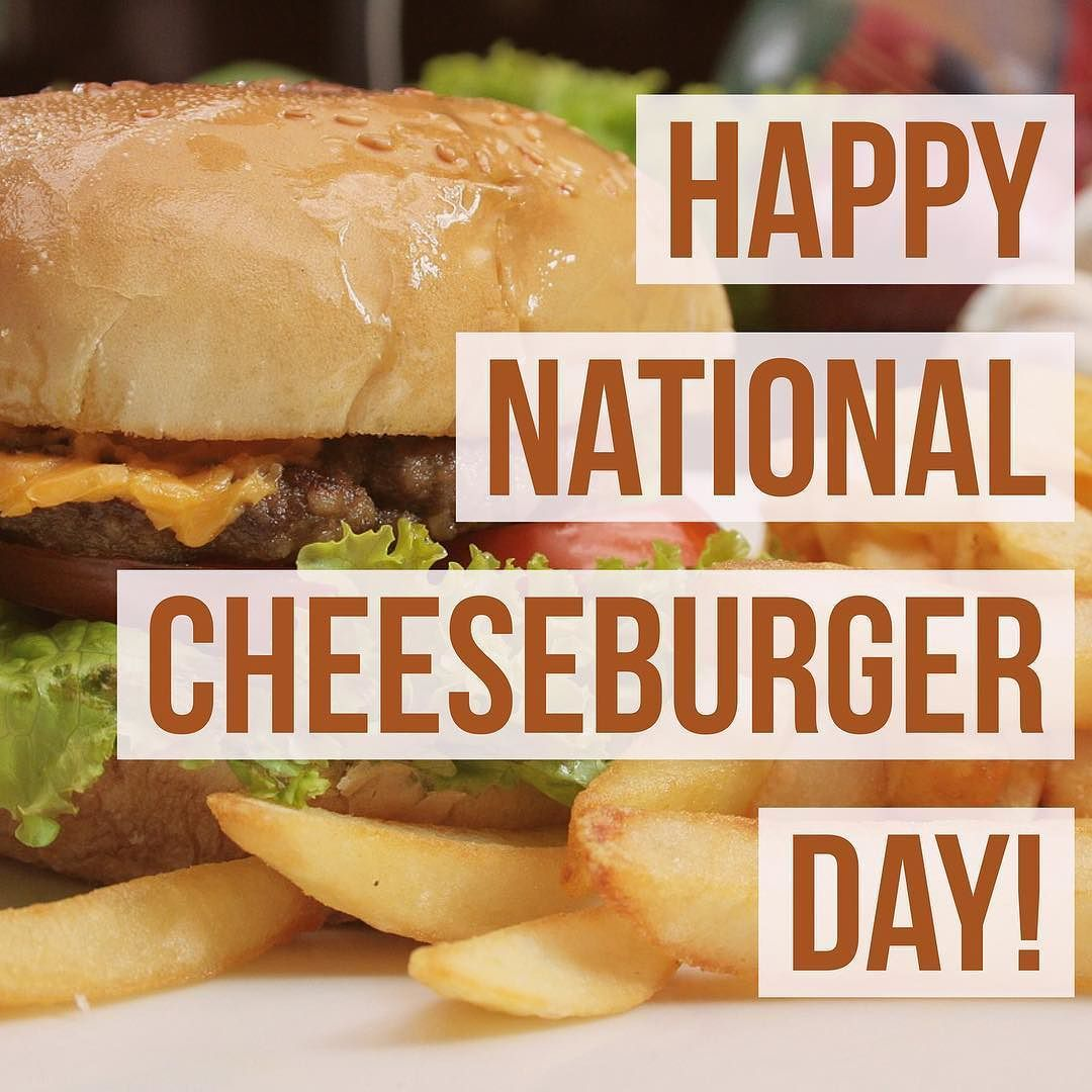 Happy National Cheeseburger Day! What are your must-have toppings