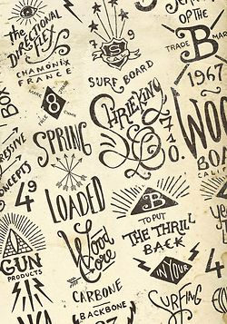 Graphic & hand-lettering boardsby BMD Design