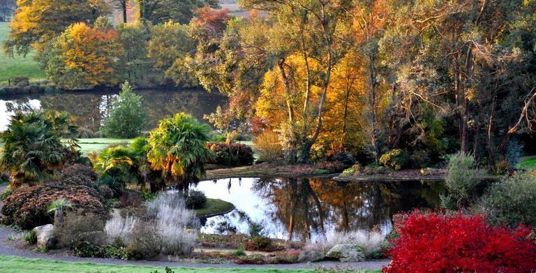 Parc Botanique De Haute Bretagne Parcs Et Jardins Le Chatellier