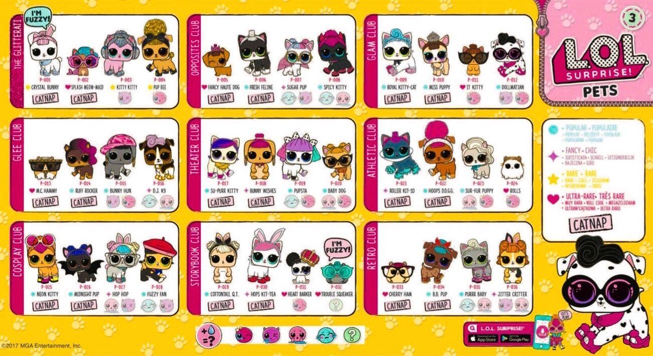 Lol Pets Series 3 Complete Lol Dolls Lol Custom Dolls