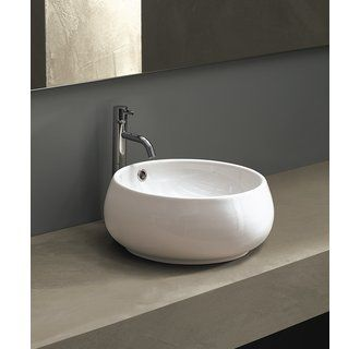 Area Boutique Tulip 15 4 5 Vessel Sink With Overflow Modern Bathroom Sink Sink Contemporary Bathroom Sinks