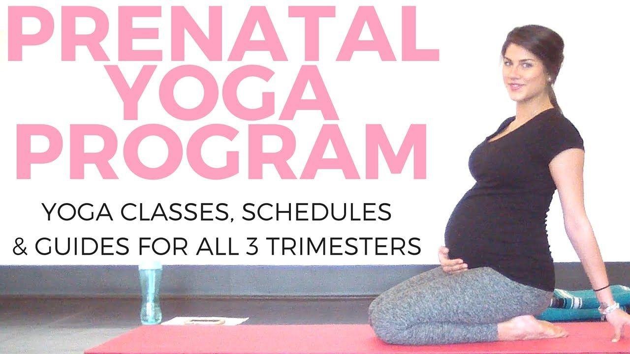 Prenatal Yoga Program (for ALL 3 trimesters!) | Sarah Beth ...