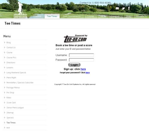 Hamilton Golf Courses - Southbrook golf club tee times