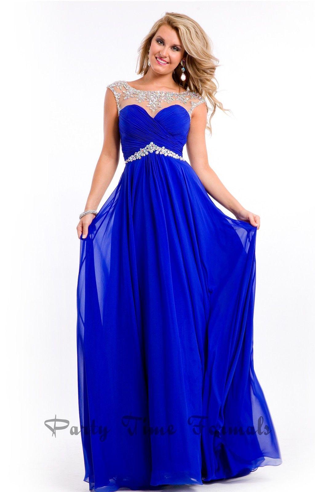 Royal blue dresses for teenagers 2016 | Graduacion Negro ...