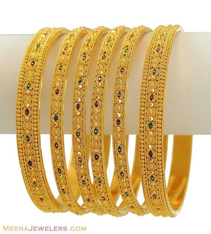 Bangles | Bangles | Pinterest | Bangle, Gold and India jewelry