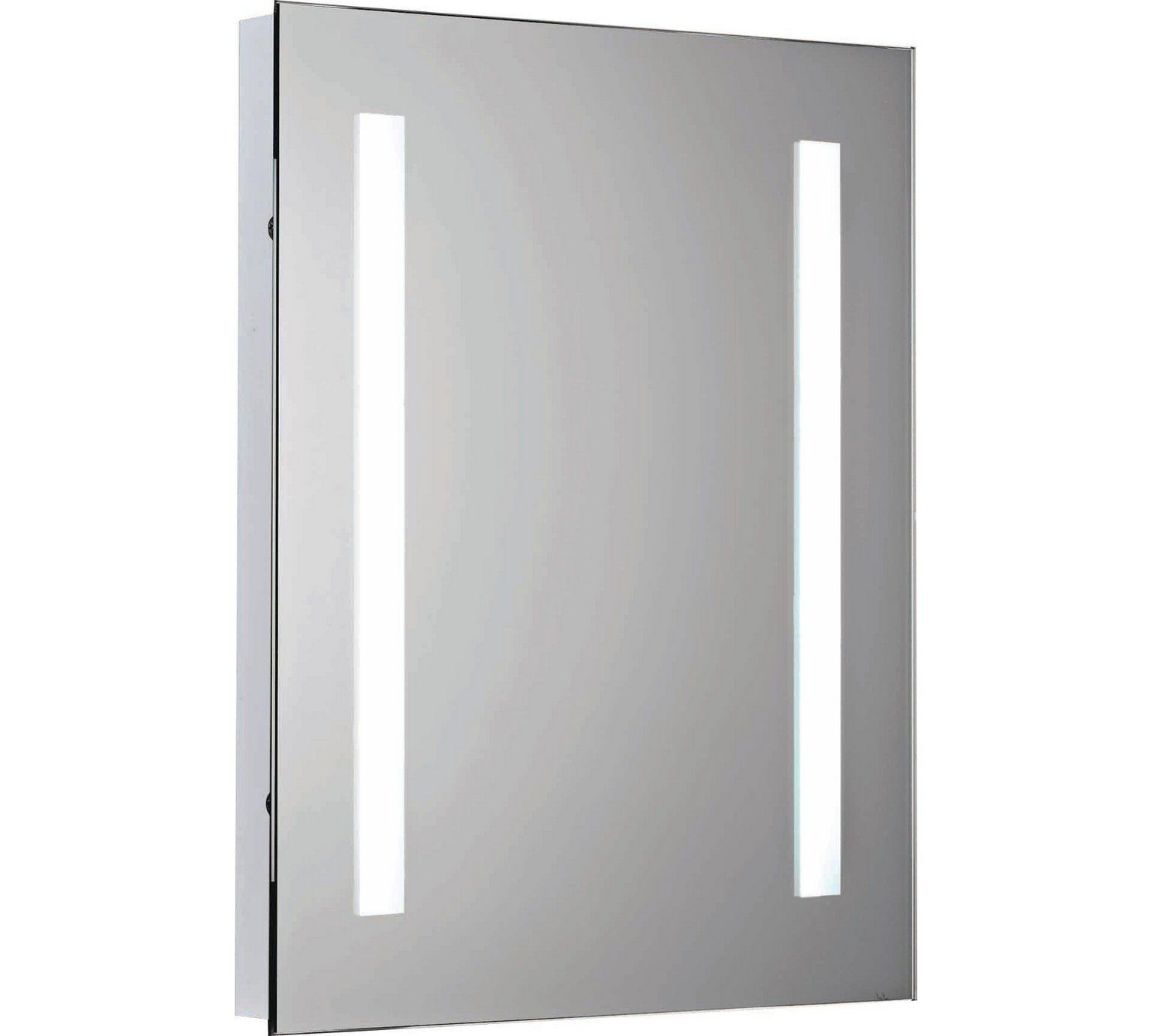 Buy Collection Rec Illuminated Bathroom Mirror with Shaver Point at ...