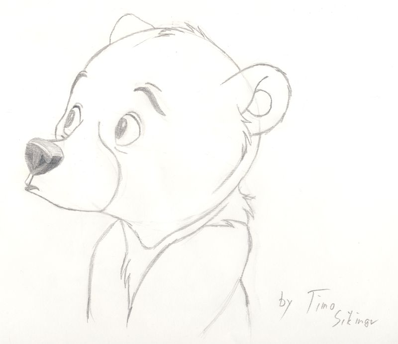10 Koda Fanart Brother Bear 2 by Alzurana on DeviantArt | ositos ...