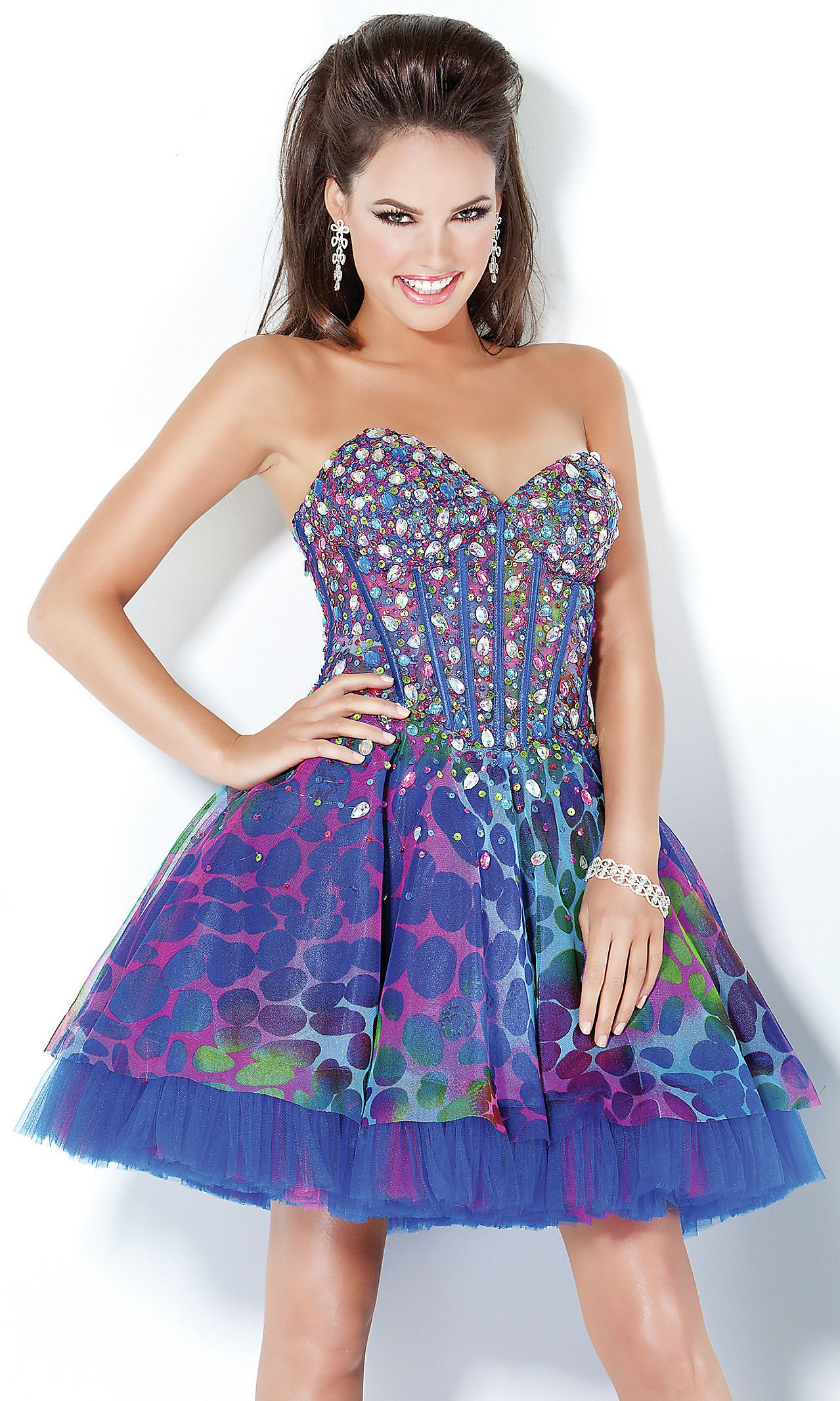 2012 Jovani Short Dress 3806 JO-3806 | that style | Pinterest