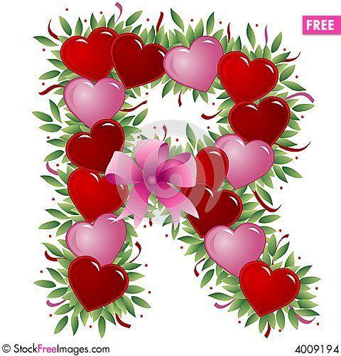 Letter R Valentine Letter Free Stock Photos Images 4009194 Valentines Letter