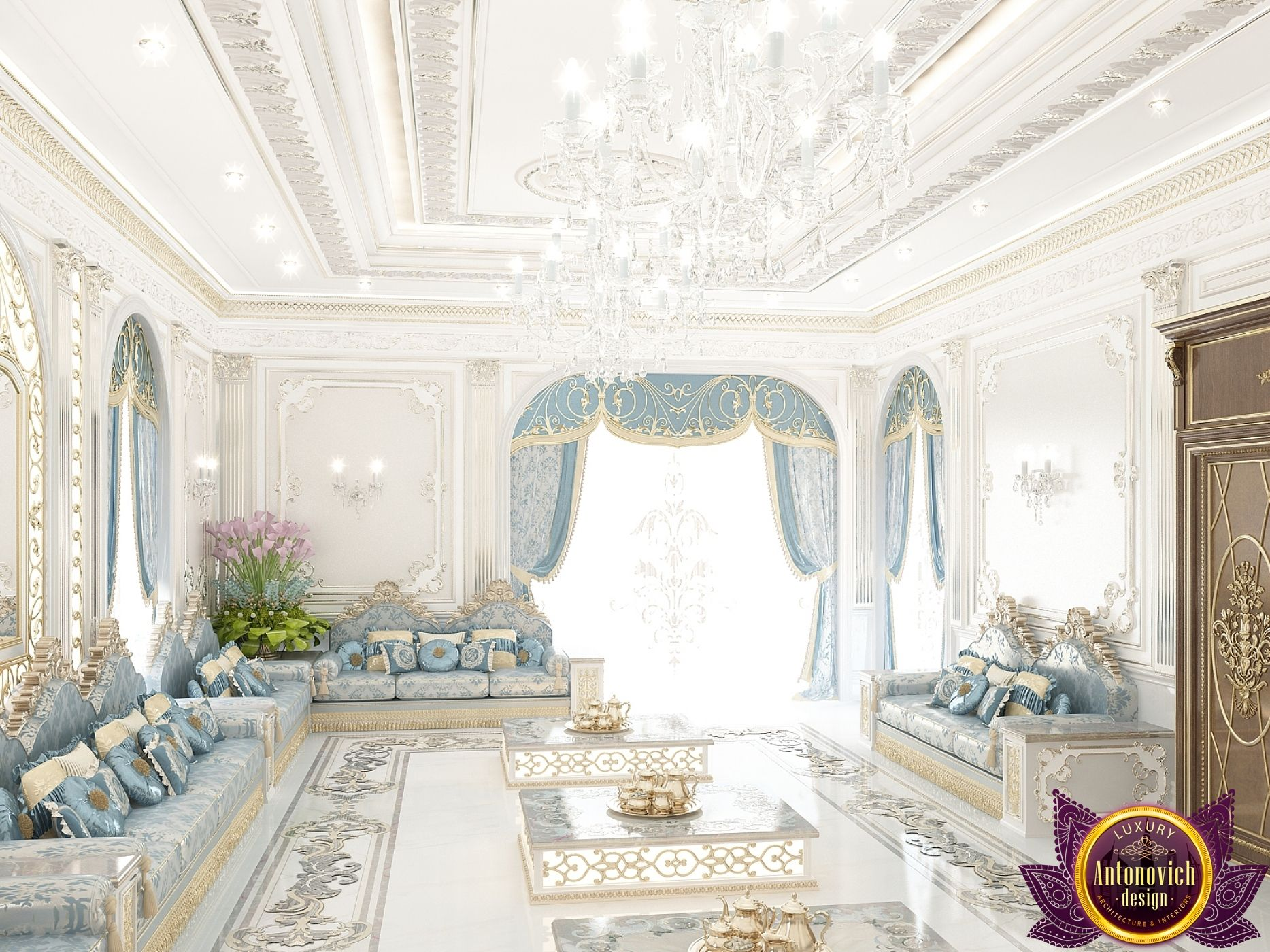 Villa Interior Design in Dubai, Luxury villa Dubai, Photo 18 ...