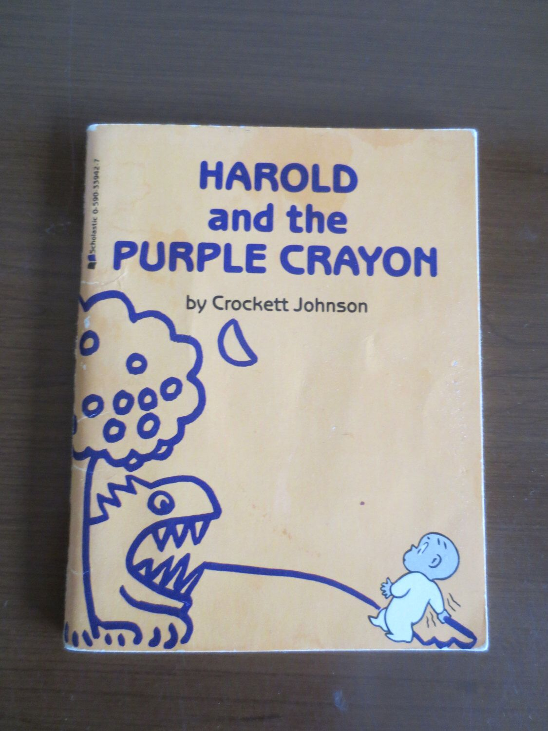 purple crayon book meaning