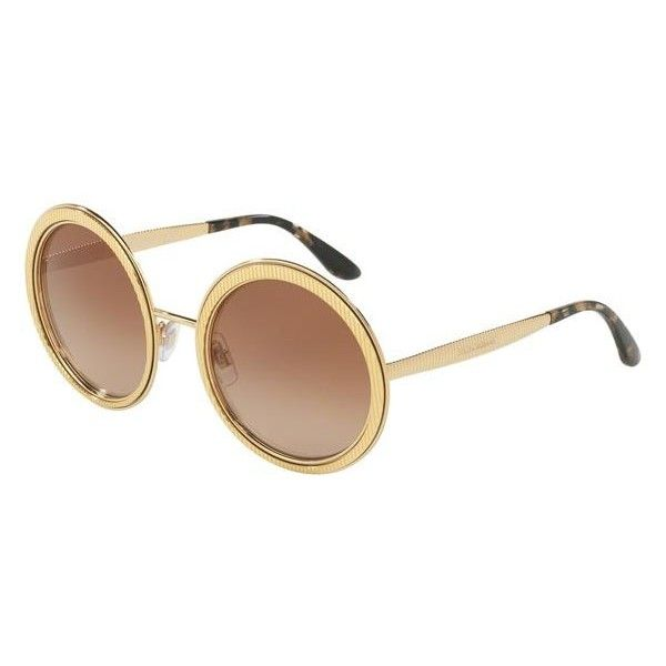 c87900ce22a7 Dolce   Gabbana DG2179 02 13 Sunglasses ( 215) ❤ liked on Polyvore  featuring accessories