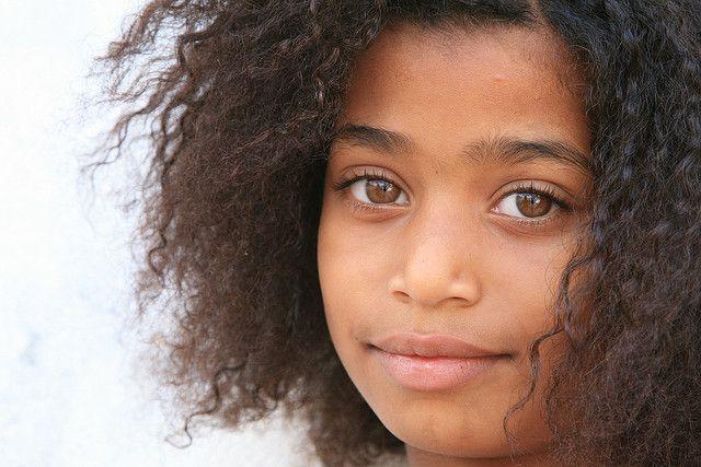 girl from Cabo Verde.