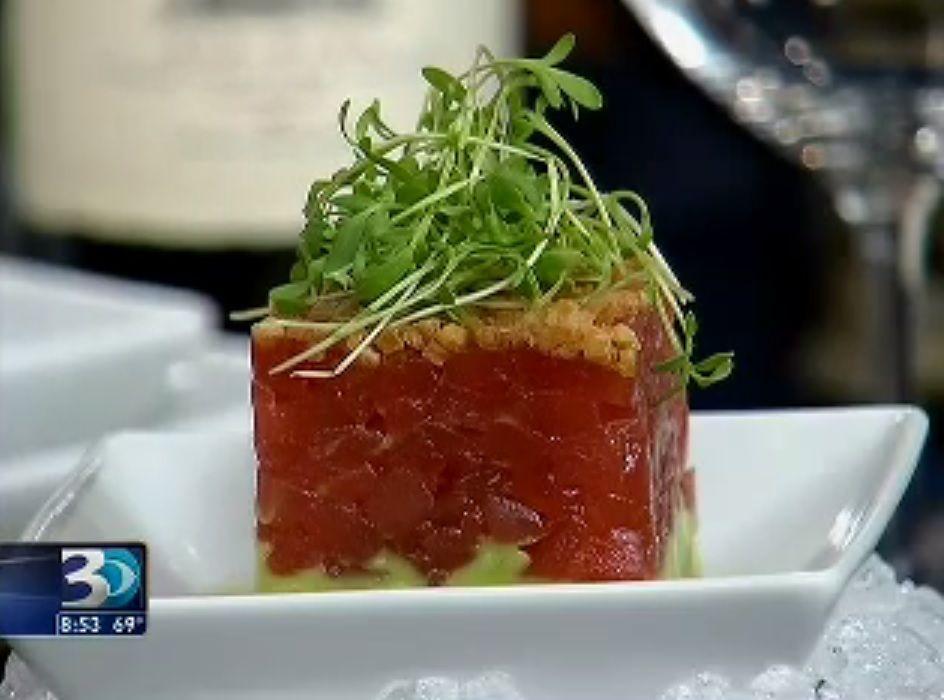 BLT Steak's Tuna Tartare Recipe presented by Chef Laurent