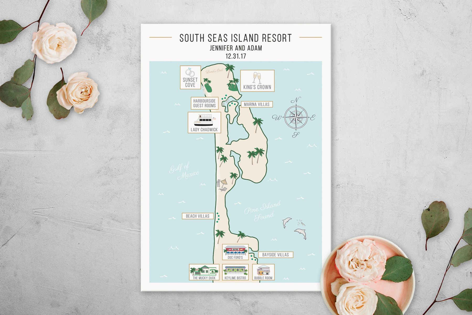 Custom Captiva Island, Florida Wedding Map • South Seas ... on coastal georgia beaches map, sea island brochure, freeport bahamas map, sea island beach, sea island home, sea island weather, sea island restaurants, sea shell island florida, sea island spa, sea beach map, castaway island map, jekyll island club hotel map, sea island tennis, sea island georgia, sea island golf, sea island history, sea island cottages, sea island transportation, south carolina barrier islands map, sea island weddings,