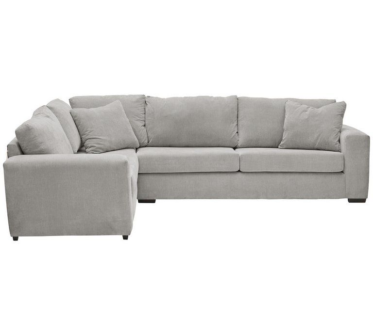 Buy Argos Home Eton Left Corner Fabric Sofa Grey Sofas Argos Grey Corner Sofa Grey Fabric Sofa Corner Sofa Living Room