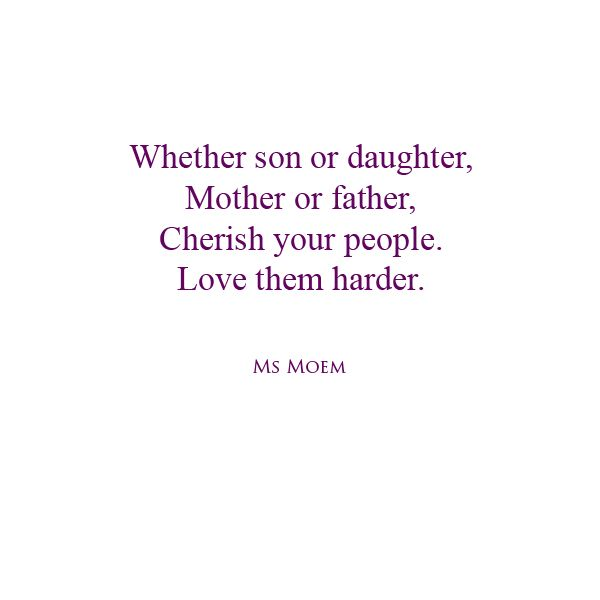 Short Poem About Life Love Family Friends Them Harder Is A And By English Poet Ms Moem