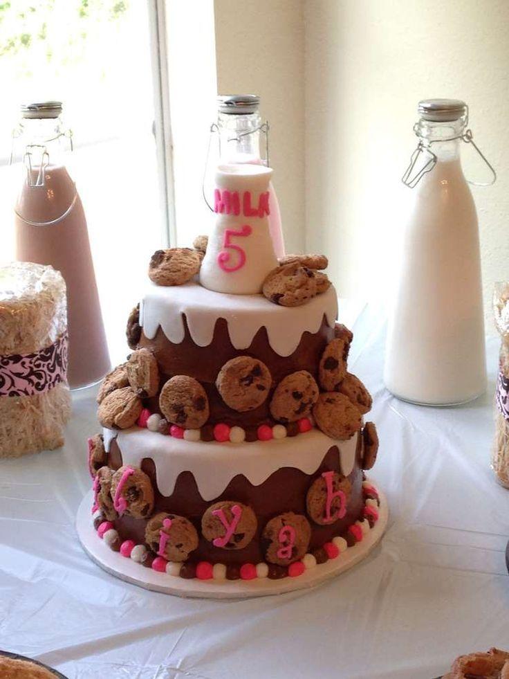 Milk cookies birthday party ideas cookie birthday