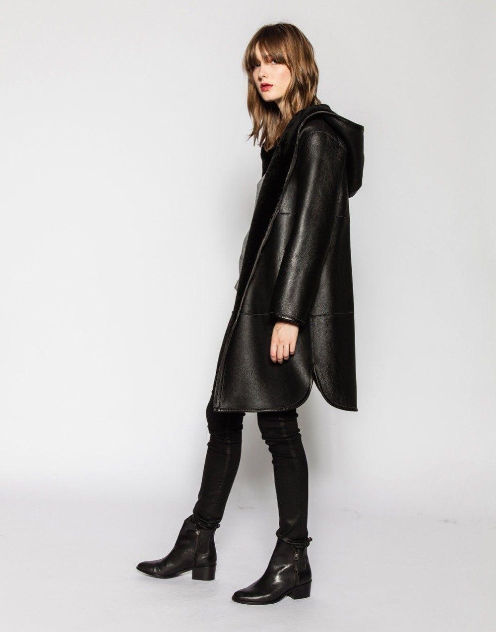 Zapa veste en cuir femme