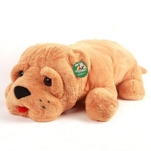 Super Soft Plush Shari Pie Pp Cotton Stuffed Dog Toy Animal