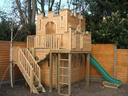 Zen Seeker S Castle Playhouse Page Castle Playhouse Play Houses Build A Playhouse