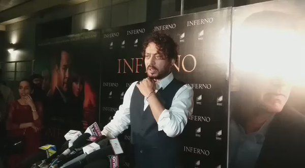 Bollyhungama : MUST WATCH: irrfank walks away on being asked about ban of Pakistani actors https://t.co/yDymdEWiqm) https://t.co/4HWkeZEHmO