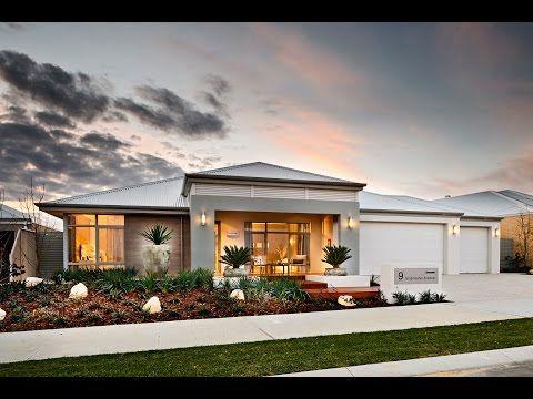 Eden Modern New Home Designs Dale Alcock Homes Youtube House Design Bungalow Design Facade House